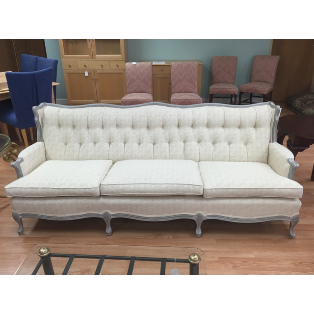 Image of Vintage French Provincial Sofa