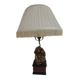 Vintage Monkeys Table Lamp