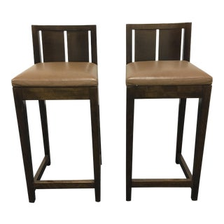 Philippe Hurel Counter Stools - A Pair