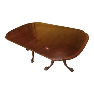Ball-and-Claw Cherry Dining Table