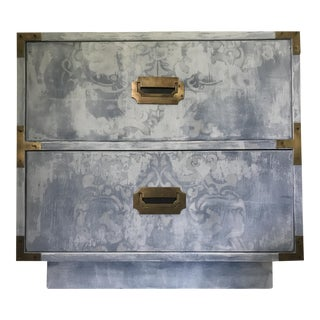 Dixie Painted Campaign Nightstand