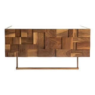 Jaxon Home Mulholland Wood Block Coffee Table
