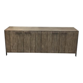 Resource Décor Contemporary Gray Wash Sideboard