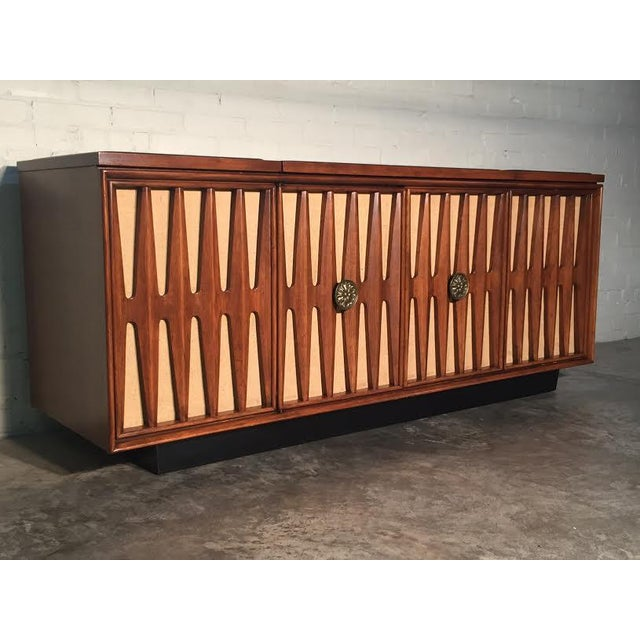 Mid-Century Modern Stereo Console/Credenza - Image 4 of 11