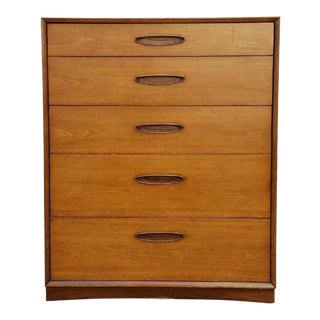 Vintage Mid-Century Highboy Dresser by Henredon