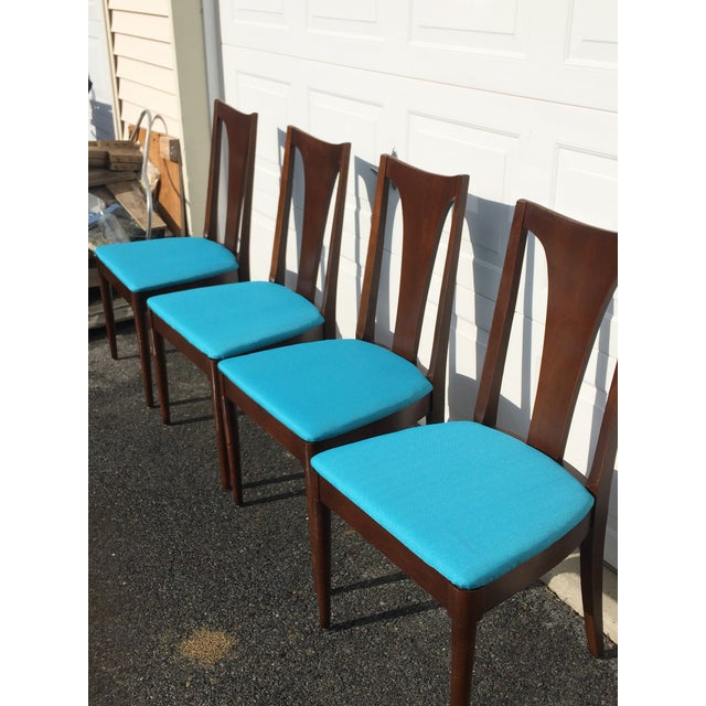 Broyhill Restored Walnut Chairs - Set of 4 - Image 6 of 8