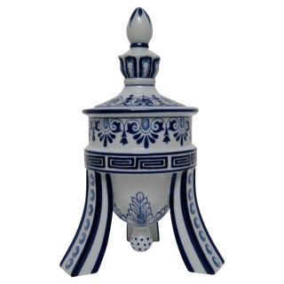 Bombay Porcelain Temple Jar