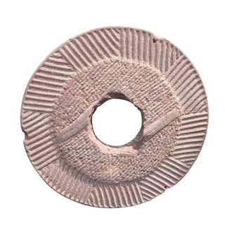 Chinese Pink Stone Disc