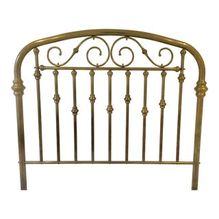 Antique Brass Headboard