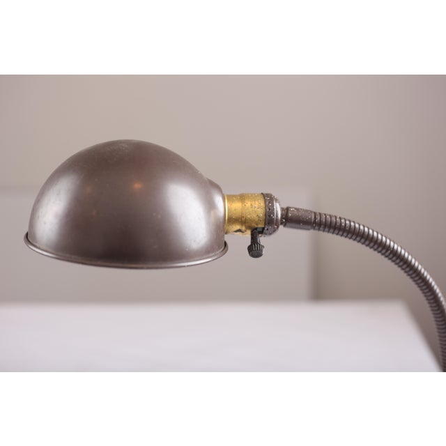 Image of Industrial Gooseneck Desk Lamp
