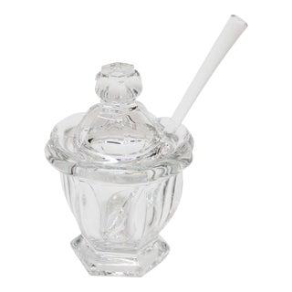 Baccarat Crystal Missouri Mustard Jar