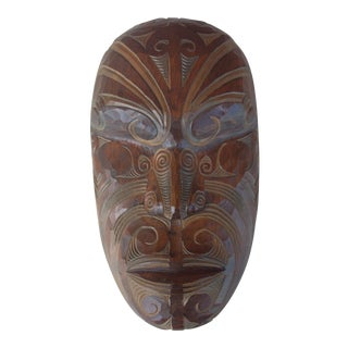 Carved Wooden Face