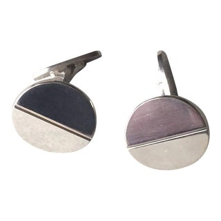 Georg Jensen Sterling Silver Cufflinks No. 106 by Andreas Mikkelsen