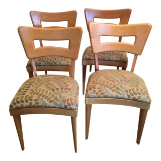 Heywood-Wakefield Dog Bone Birch Wood Chairs - Set of 4