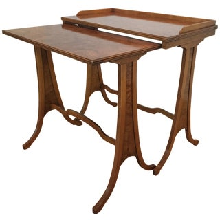 Baker Furniture Nesting Tables - A Pair