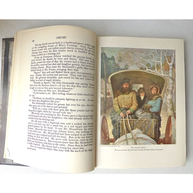 """""""Drums"""" Book Illustrated by N.C. Wyeth, 1928 - Image 5 of 11"""