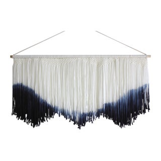 Hand Dyed Macrame Tapestry