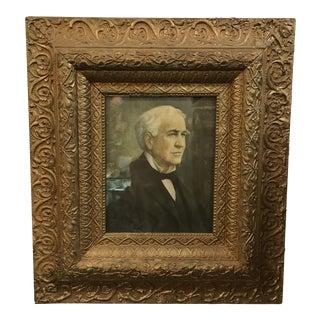 Antique Gilded Wood Frame
