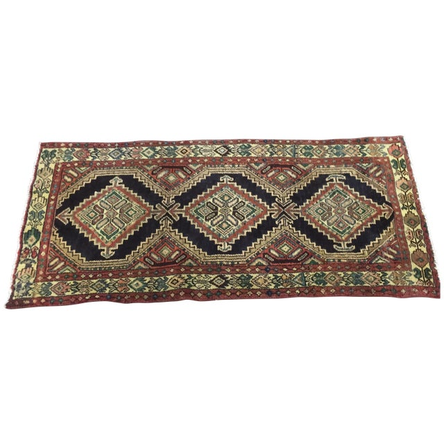 Image of Hamadan Persian Rug - 2'6'' x 3'6''