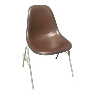Herman Miller Padded Eames Fiberglass Shell Chair