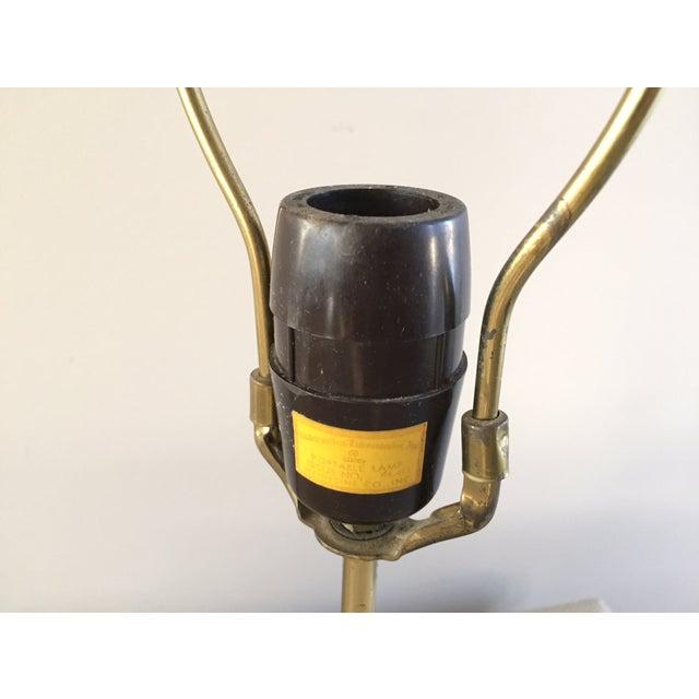 Vintage Laurel Walnut Teardrop Table Lamp - Image 7 of 7