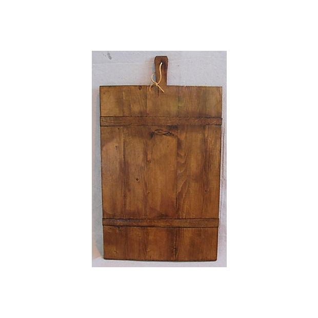 Large Antique French Bread Cutting Culinary Board - Image 2 of 5