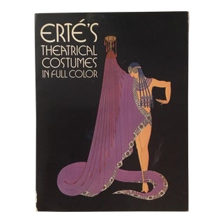 'Erte Theatrical Costumes in Full Color' Book