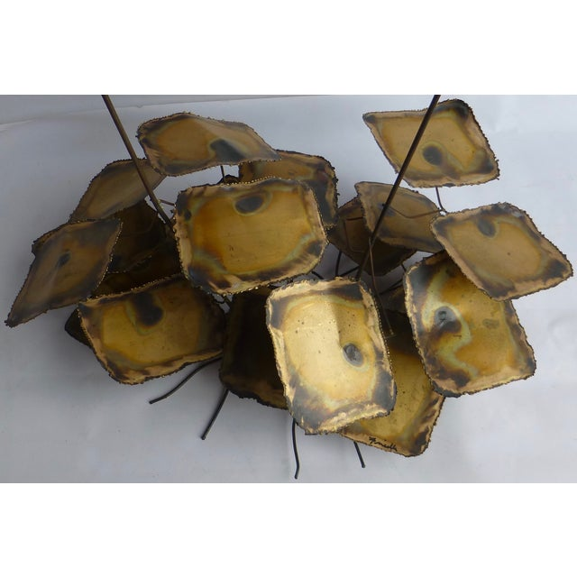 Signed Friedle Metal Wildflower Sculpture - Image 5 of 11