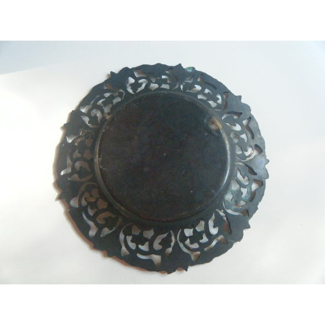 Image of Vintage Copper and Brass Egyptian Tray