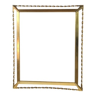 Twisted Brass Frame
