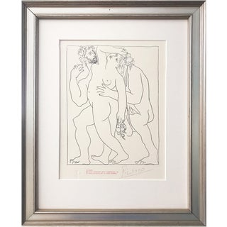 Picasso Signed Edition Lithograph