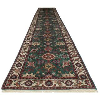 Persian Style Wool Runner - 2′8″ × 13′8″