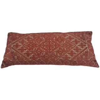 Amelia Dilk Embroidered Pillow