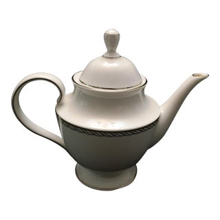 Lenox China Serpentine Teapot