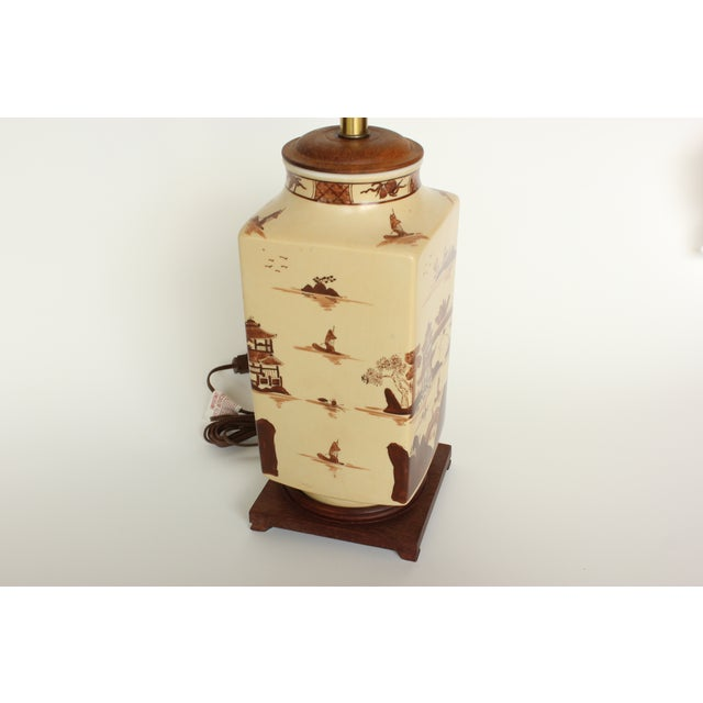 Vintage Chinese Table Lamp - Image 5 of 6