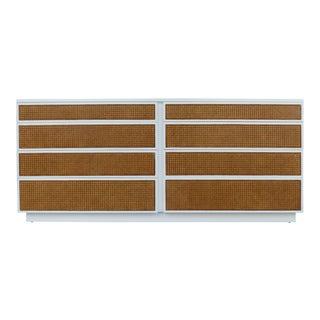 Harvey Probber Lacquered Dresser W/ Cane