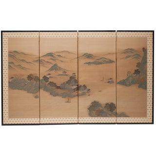 Japanese Byobu Screen, 1910-1940s