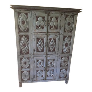 1700s Antique Baroque Cabinet