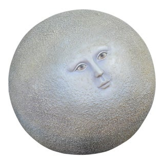 Moon Sculpture by Sergio Bustamante