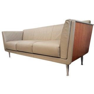 Mark Goetz Sofa for Herman Miller Leather Sofa