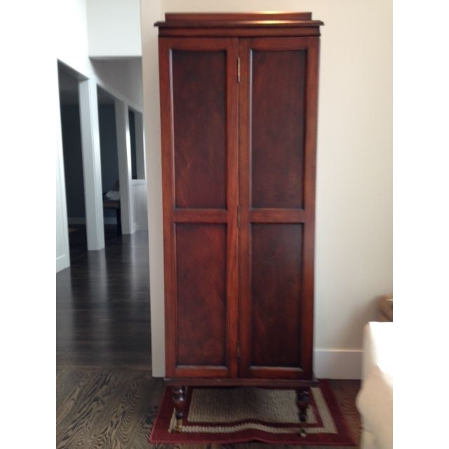 Image of Traditional Etagere Cabinet