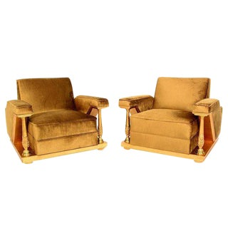Octavio Vidales Armchairs for Muebles Johrvy