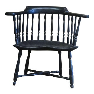 Windsor Low--Back Chair