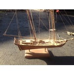 Image of Wood Model Boat