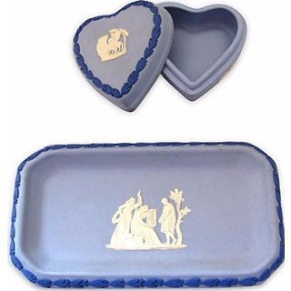 Wedgwood Pin Dish & Ring Box