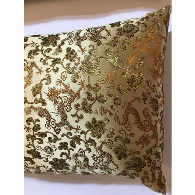 Chinese Silk Pillows - A Pair - Image 9 of 12