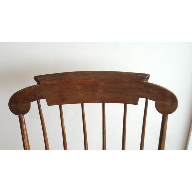 Antique Primitive Rocking Chair - Image 4 of 8