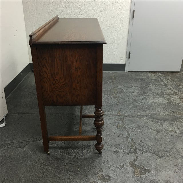 Image of Stratford Chair Co. Vintage Oak Sideboard