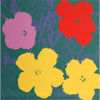 Andy Warhol, Flowers 6, Sunday B. Serigraph