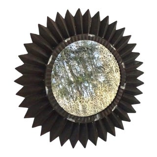 Mexican Tin Sunburst Mirror